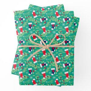 Mickey Mouse | Christmas Stockings & Holly Pattern  Sheets