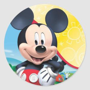 Mickey Mouse Clubhouse | Playhouse Classic Round Sticker