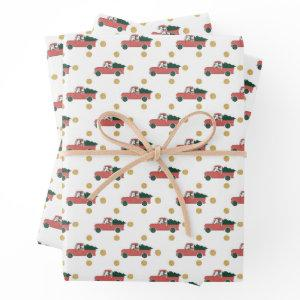 Mickey Mouse | Home for Christmas Pattern Wrapping Paper Sheets