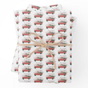 Mickey Mouse | Home for Christmas Wrapping Paper Sheets