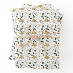 Mickey Mouse | Love, Peace & Joy Pattern Wrapping Paper Sheets