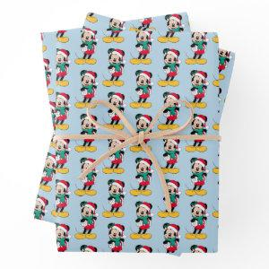 Mickey Mouse | Winter Outfit Wrapping Paper Sheets