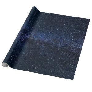 Milky Way Stars Galaxy Wrapping Paper