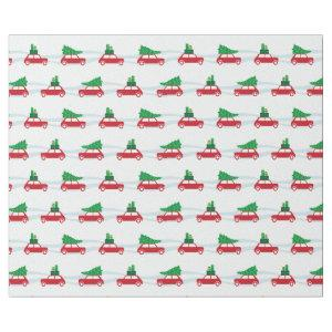 Mini Cooper Christmas Traffic Wrapping Paper