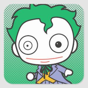 Mini Joker Square Sticker
