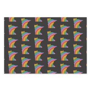 Minnesota Rainbow Wrapping Paper
