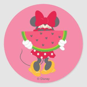Minnie | Minnie's Tropical Adventure Classic Round Sticker