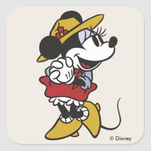 Minnie Mouse | Outdoor Minnie Square Sticker