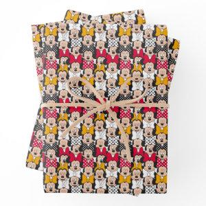 Minnie Mouse | Pattern Wrapping Paper Sheets