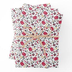 Minnie Mouse | #what'sinmypurse Pattern 2 Wrapping Paper Sheets