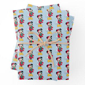 Minnie Mouse | Winter Outfit Wrapping Paper Sheets