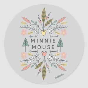 Minnie Mouse | Young Wanderers Club Classic Round Sticker