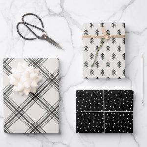 Modern Farmhouse holiday wrapping paper