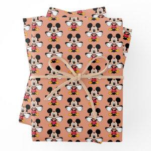 Modern Mickey   Sticking Out Tongue Wrapping Paper Sheets