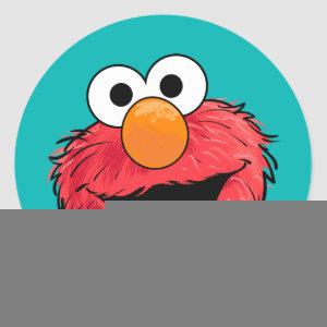 Monster At the End of this Story | Elmo Classic Round Sticker