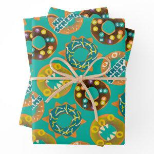 Monsters at Work | Krispy Screams Wrapping Paper Sheets