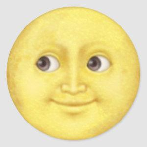 Moon emoji sticker