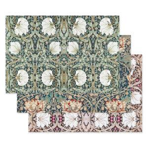 MORRIS ART NOUVEAU STYLE HEAVY WEIGHT DECOUPAGE WRAPPING PAPER SHEETS
