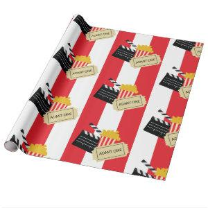 Movie Cinema Party Gift Wrapping Paper