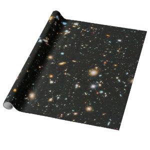 NASA Hubble Ultra Deep Field Galaxies Wrapping Paper
