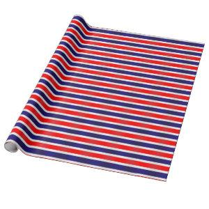 National Flag Of Thailand Wrapping Paper