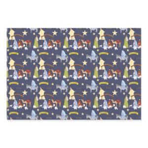 Nativity Wrapping Paper