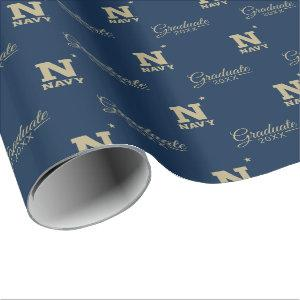 Naval Academy Graduate Wrapping Paper