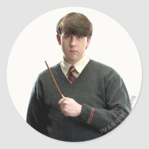 Neville Longbottom Crossed Arms Classic Round Sticker