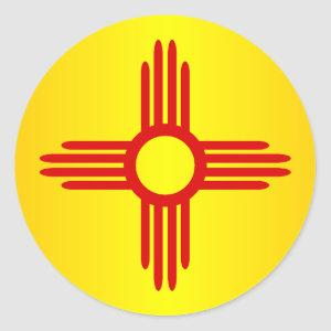 New Mexico (SP) Classic Round Sticker