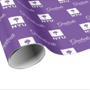 New York University Graduate Wrapping Paper