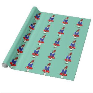 Norman Gnome Wrapping Paper