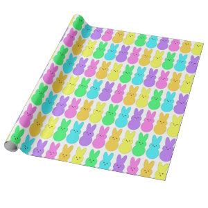 Nothing But A Peep Bunny Marshmallow Wrapping Paper