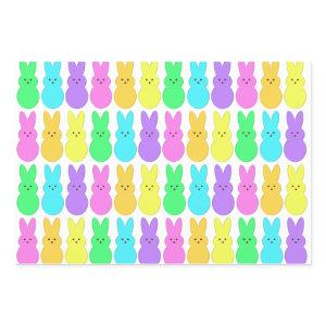 Nothing But A Peep Marshmallow Bunny  Wrapping Paper Sheets