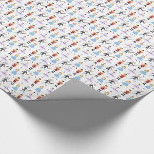 Nutcracker Characters Wrapping Paper