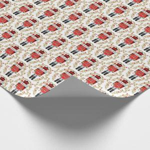 Nutcracker Christmas Prince Wrapping Paper