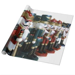 Nutcracker Gift Wrapping Paper