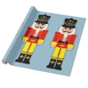 """Nutcracker Soldier Matte Wrapping Paper, 30"""" x 6' Wrapping Paper"""