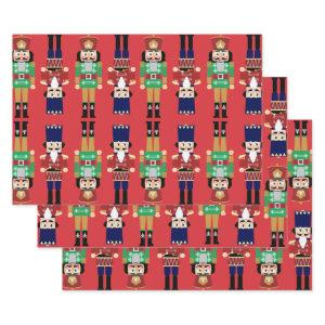 Nutcracker Wrapping Paper Sheets