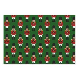 Nutcracker - wrapping paper sheets