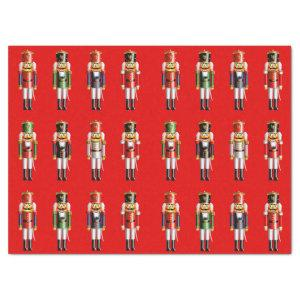Nutty Nutcrackers Army Tissue Paper
