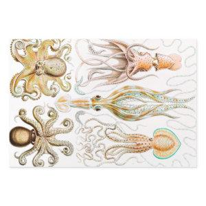 Octopus Squid, Gamochonia by Ernst Haeckel Wrapping Paper Sheets