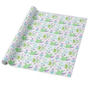 Oh Baby Dinosaur Wrapping Paper