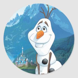 Olaf | Today Will be Perfect Classic Round Sticker