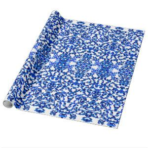 Openwork pattern in the style chinoiserie wrapping paper