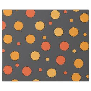 Orange Dotty Wrapping Paper