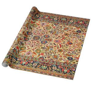 Oriental Turkish Persian Azerbaijan Carpet Wrapping Paper