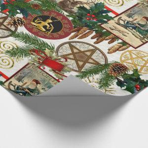 Pagan Yuletide & Vintage Victorian Wrapping Paper