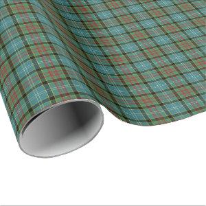 Paisley Scotland District Tartan Wrapping Paper