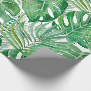 Palm leaves wrapping paper