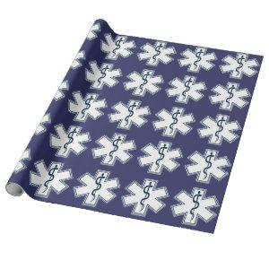 Paramedic EMT EMS Wrapping Paper